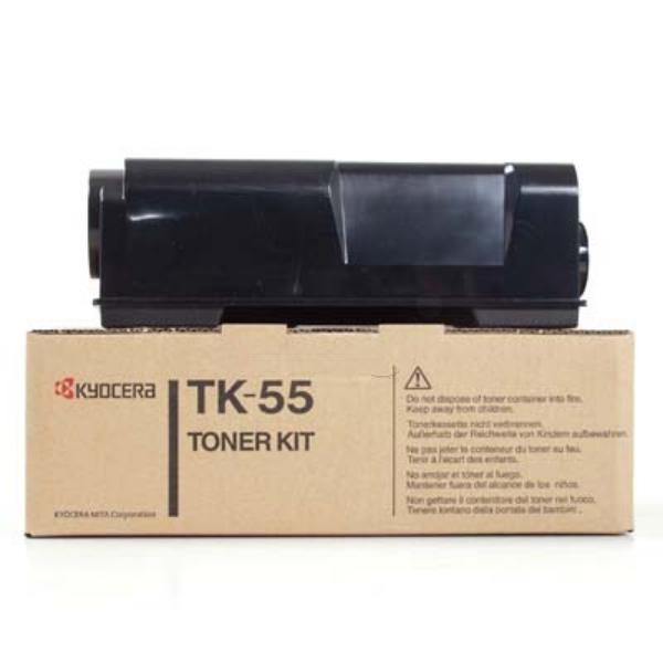 KYOCERA 370QC0KX (TK-55) Toner black, 15K pages @ 5% coverage