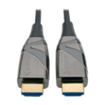 Tripp Lite High-Speed HDMI 2.0 Fiber Active Optical Cable (AOC) - 4K x 2K HDR @ 60 Hz, 4:4:4, M/M, Black, 5 m