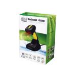 Adesso NuScan 4100B Handheld bar code reader 1D CCD Black, Yellow