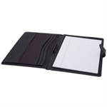 MONOLITH LEATHER LOOK A4 CONF FOLDER AND PAD