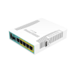 Mikrotik hEX PoE wired router White