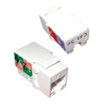 Cablenet Cat5e UTP 110 IDC Keystone White