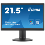 "iiyama ProLite B2280HS-B1 21.5"" Full HD LED Matt Flat Black computer monitor LED display"