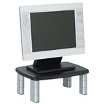 3M MS80B Flat panel Multimedia stand Black, Silver