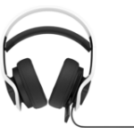 HP 6MF36AA headphones/headset Head-band White