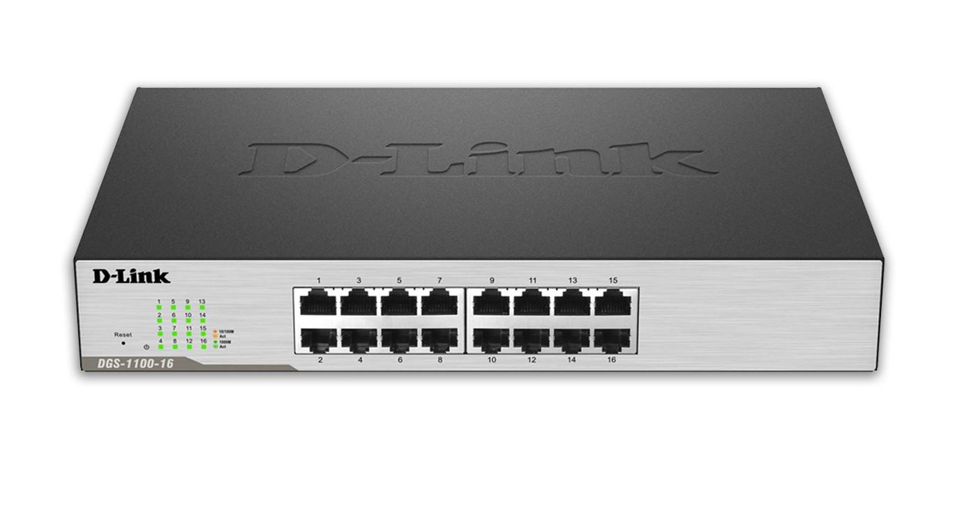 D-Link EasySmart L2 Gigabit Ethernet (10/100/1000) Black