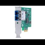 Allied Telesis Single port Fiber Gigabit NIC for 32-bit PCIe x1 bus SC RoHs Version