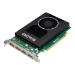 HP NVIDIA Quadro M2000 - Graphics card - Quadro M2000 - 4 GB GDDR5 - PCIe 3.0 x16 - 4 x DisplayPort - p