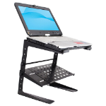 Pyle PLPTS26 multimedia cart/stand Multimedia stand Black Notebook