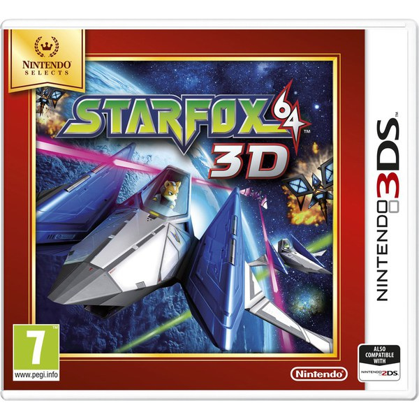 Nintendo Star Fox 64 3D(Selects)