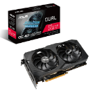 ASUS Dual -RX5500XT-O4G-EVO graphics card AMD Radeon RX 5500 XT 4 GB GDDR6