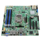 Intel S1200SPLR server-/werkstationmoederbord microATX Intel® C236