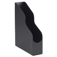 Avery Original Magazine Rack File High-impact Polystyrene A4 Plus Black Ref 440SXBLK [Pack 6]