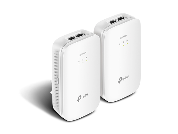 TP-LINK TL-PA9020 KIT 2000Mbit/s Ethernet LAN White 2pc(s) PowerLine network adapter