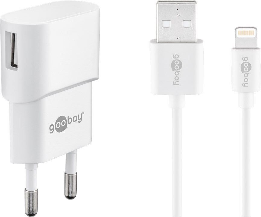 Goobay 45295 mobile device charger Indoor White