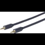 Vivolink 1.0m 3.5mm - 3.5mm audio cable 1 m Black