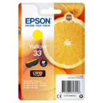 Epson C13T33444012 (33) Ink cartridge yellow, 300 pages, 5ml