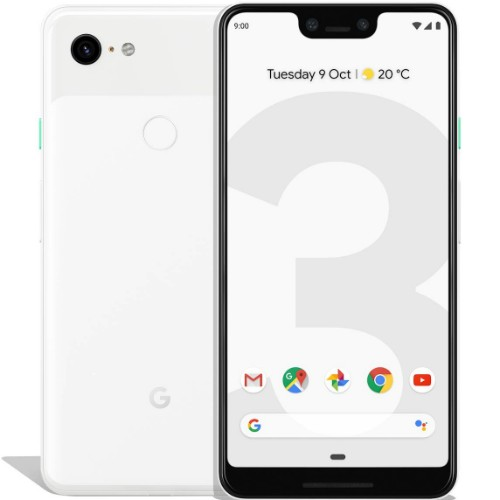 "Google Pixel 3 XL 16 cm (6.3"") 4 GB 64 GB Single SIM 4G White 3430 mAh"