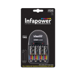 Infapower Home Charger 4 x AA 1300mAh Indoor battery charger Black