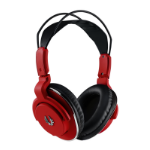 BitFenix Flo Red Circumaural Head-band headphone