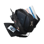 Lightpak ARCO notebook case Briefcase Black