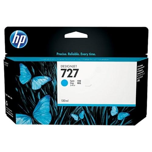 HP F9J76A (727) Ink cartridge cyan, 300ml