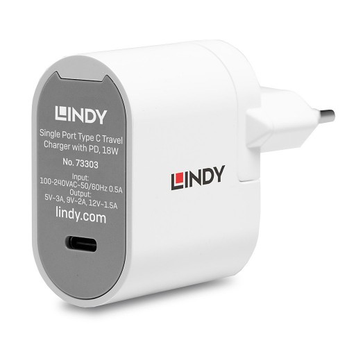 Lindy 73303 mobile device charger White Indoor