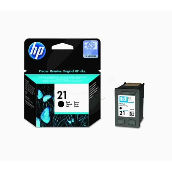 HP C9351AE (21) Printhead black, 190 pages, 5ml