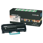 Lexmark X264H11G Toner black, 9K pages