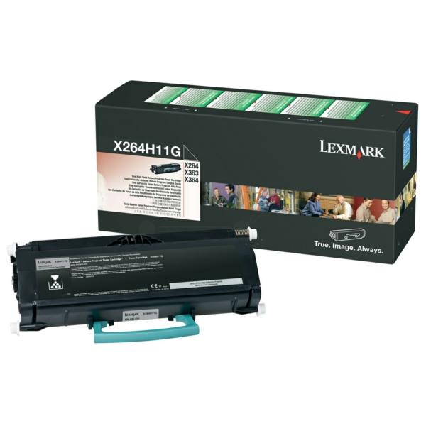Lexmark X264H11G Toner black, 9K pages