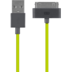 FUSEBOX MFI 30-pin Sync and Charge Cable (20 Pk) vibrant colours and is 1.2 m