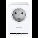 D-Link DHP-P309AV 500Mbit/s Ethernet LAN White 1pc(s) PowerLine network adapter