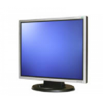 "Wortmann AG 1940 19"" LED Black, Silver computer monitor"