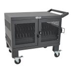 Tripp Lite CSHANDLEKIT2 portable device management cart/cabinet Black