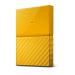 Western Digital My Passport external hard drive 3000 GB Yellow