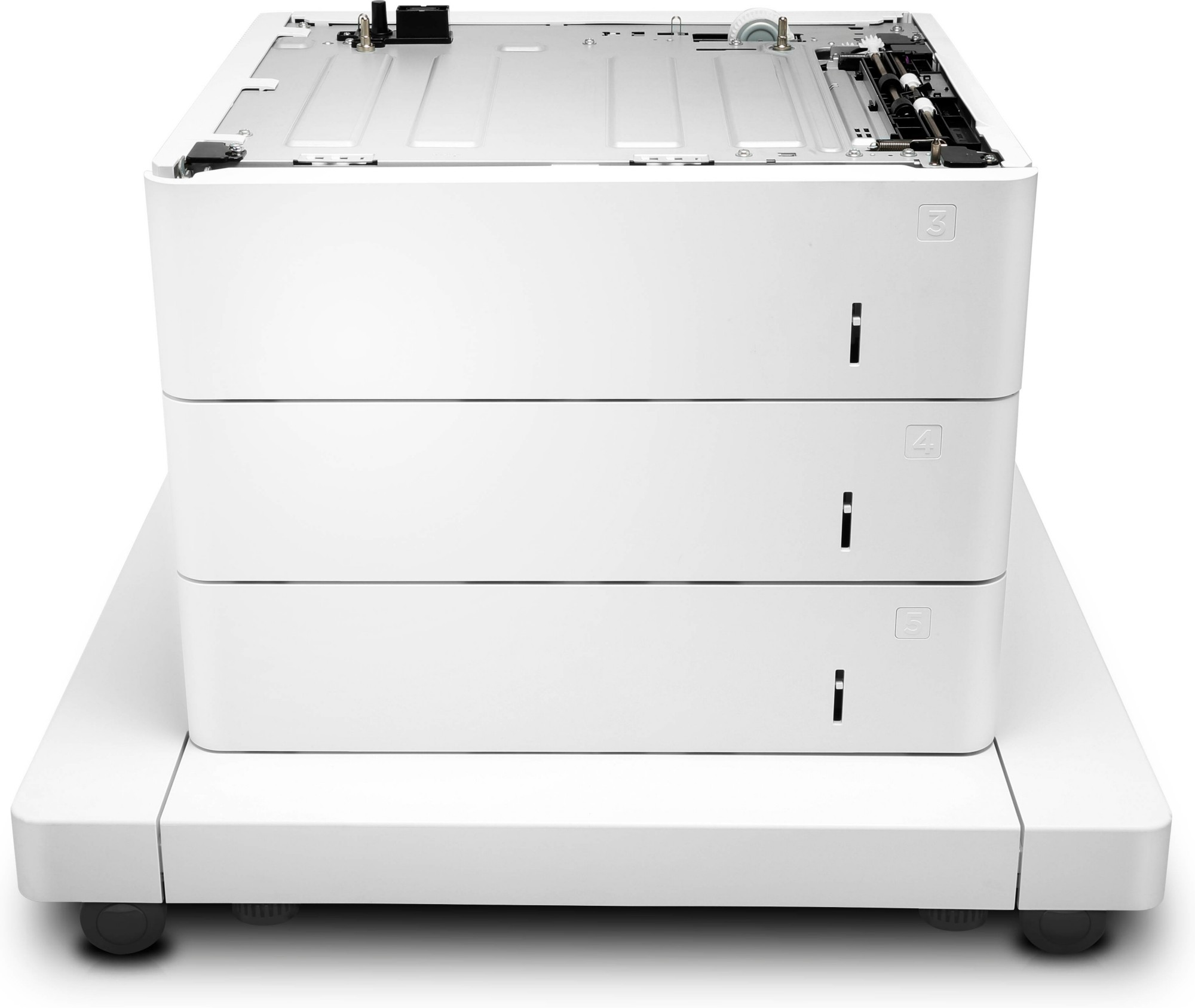 HP LaserJet 3x550-sheet Paper Feeder with Cabinet J8J93A