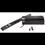Raritan Dominion PX PX2-1190R 8AC outlet(s) 1U Black power distribution unit (PDU)