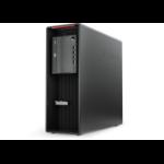 Lenovo ThinkStation P520 Intel® Xeon® 16 GB DDR4-SDRAM 512 GB SSD Black Tower Workstation