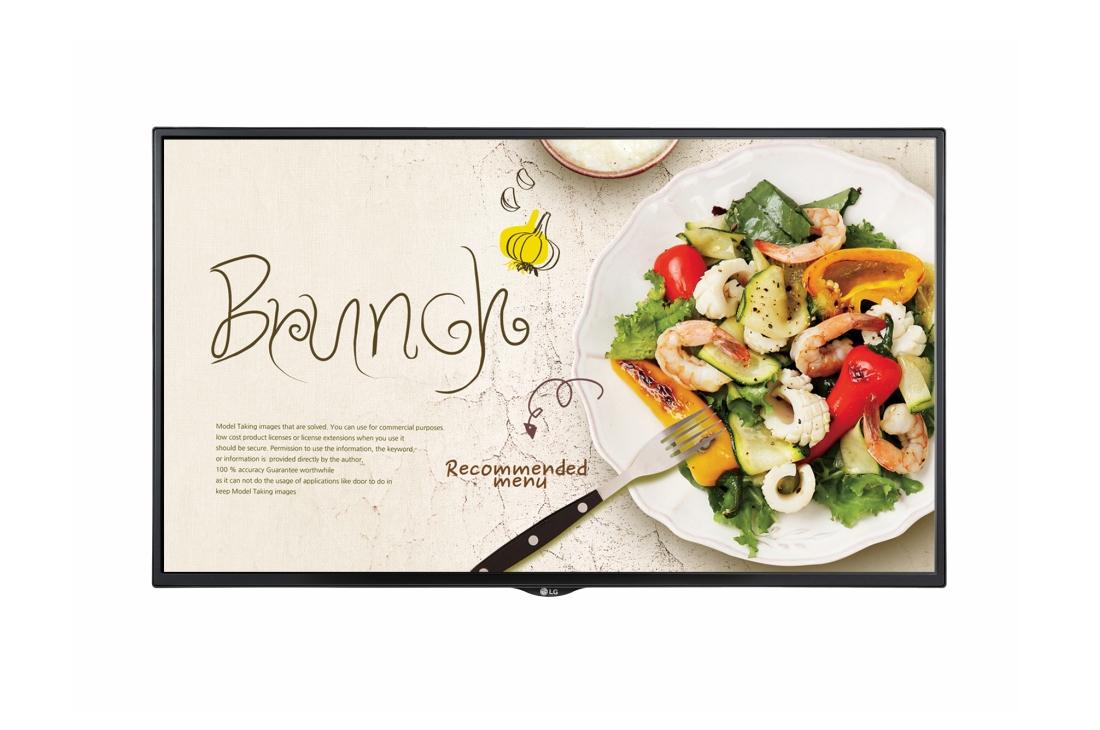 "LG 49SM5KE signage display Digital signage flat panel 124.5 cm (49"") LCD Full HD Black Web OS"