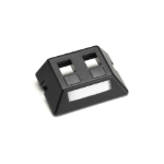 Black Box WP459-MF Black wall plate/switch cover
