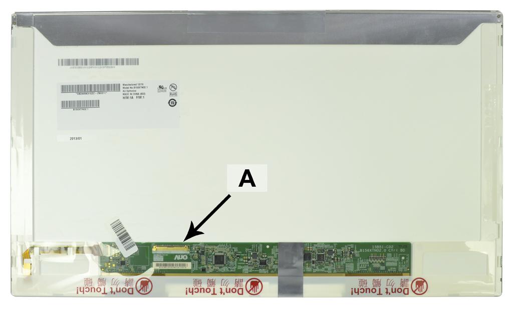 2-Power 15.6 WXGA HD 1366x768 LED Matte Screen - replaces 605802-001