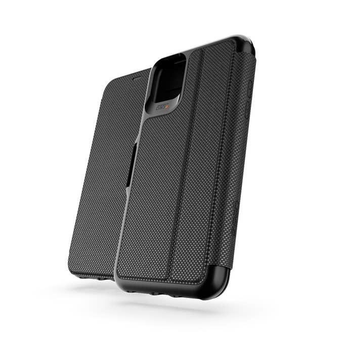 "GEAR4 Oxford Eco mobiele telefoon behuizingen 16,5 cm (6.5"") Folioblad Zwart"