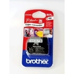 Brother MK-231SBZ P-Touch Ribbon, 12mm x 4m
