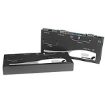 StarTech.com PS/2 + USB KVM Console Extender Black KVM switch