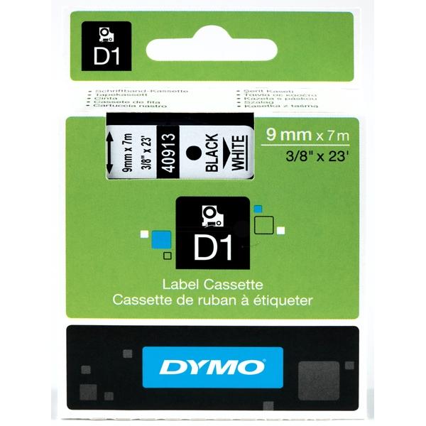 Tape Black On White 9mmx7m Type D1 Xxx