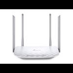 TP-LINK Archer C50 Dual-band (2.4 GHz / 5 GHz) Fast Ethernet Gris, Blanco enrutador inalámbrico dir