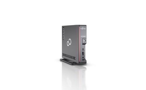 Fujitsu ESPRIMO G5010 DDR4-SDRAM i5-10400T mini PC 10th gen Intel® Core™ i5 8 GB 256 GB SSD Windows 10 Pro Black