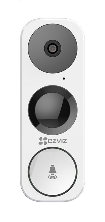 Ezviz CS-DB1-A0-1B3WPFR Smart Video Doorbell 3Mp Two Way Talk IP65