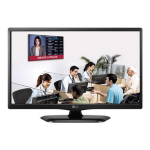 "LG LW331C 24"" HDTV, IPS LED, 1366X768, 8.5MS, DSUB, HDMI, SERIAL, SPKR, VESA, 3YR"