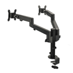 """Siig CE-MT3E11-S1 monitor mount / stand 30"""" Clamp/Bolt-through Black"""